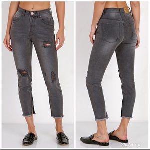 One Teaspoon Freebirds High Waist Jeans -B15
